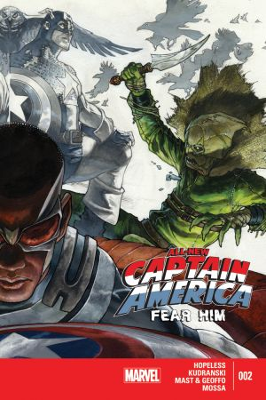 All-New Captain America: Fear Him (2015) #2