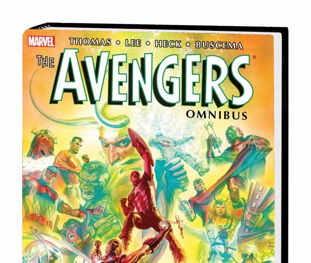 THE AVENGERS OMNIBUS VOL. 2 HC ROSS COVER
