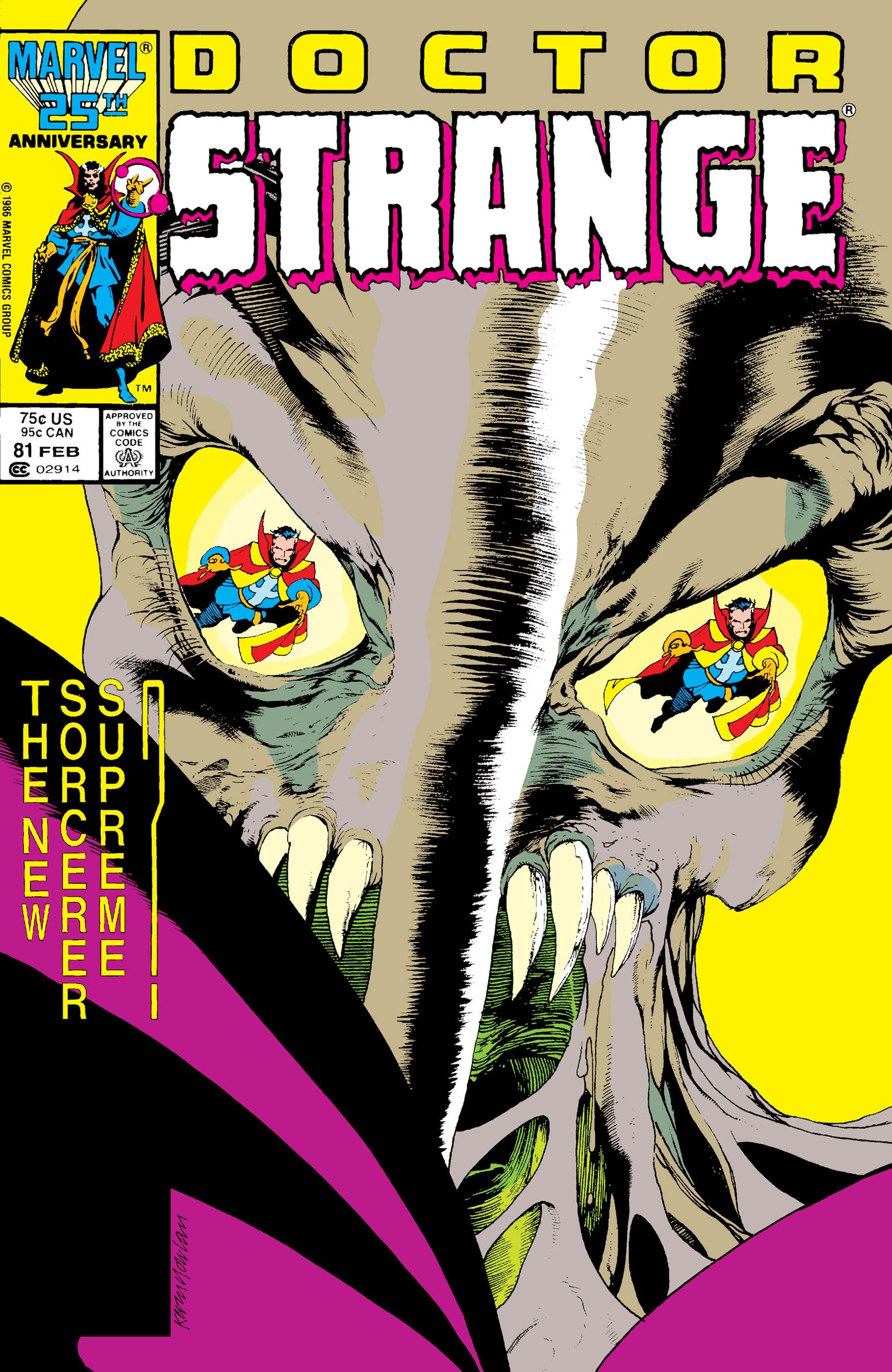 Doctor Strange (1974) #81