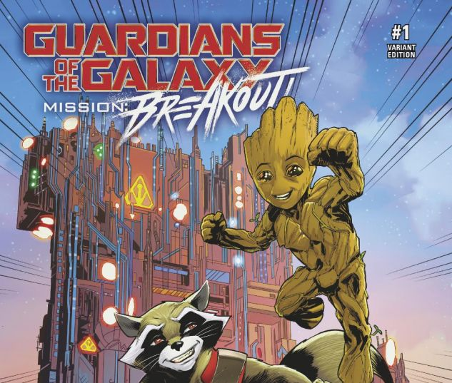 Guardians of The Galaxy: Mission Breakout (2017) #1 (IZAAKSE DISNEY VARIANT)