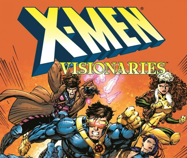 X-MEN VISIONARIES: JIM LEE TPB 0 cover