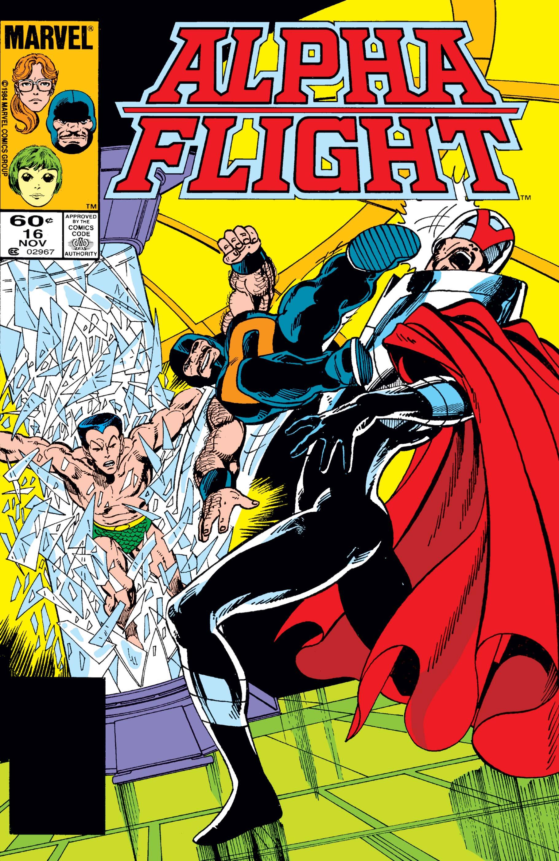 Alpha Flight (1983) #16
