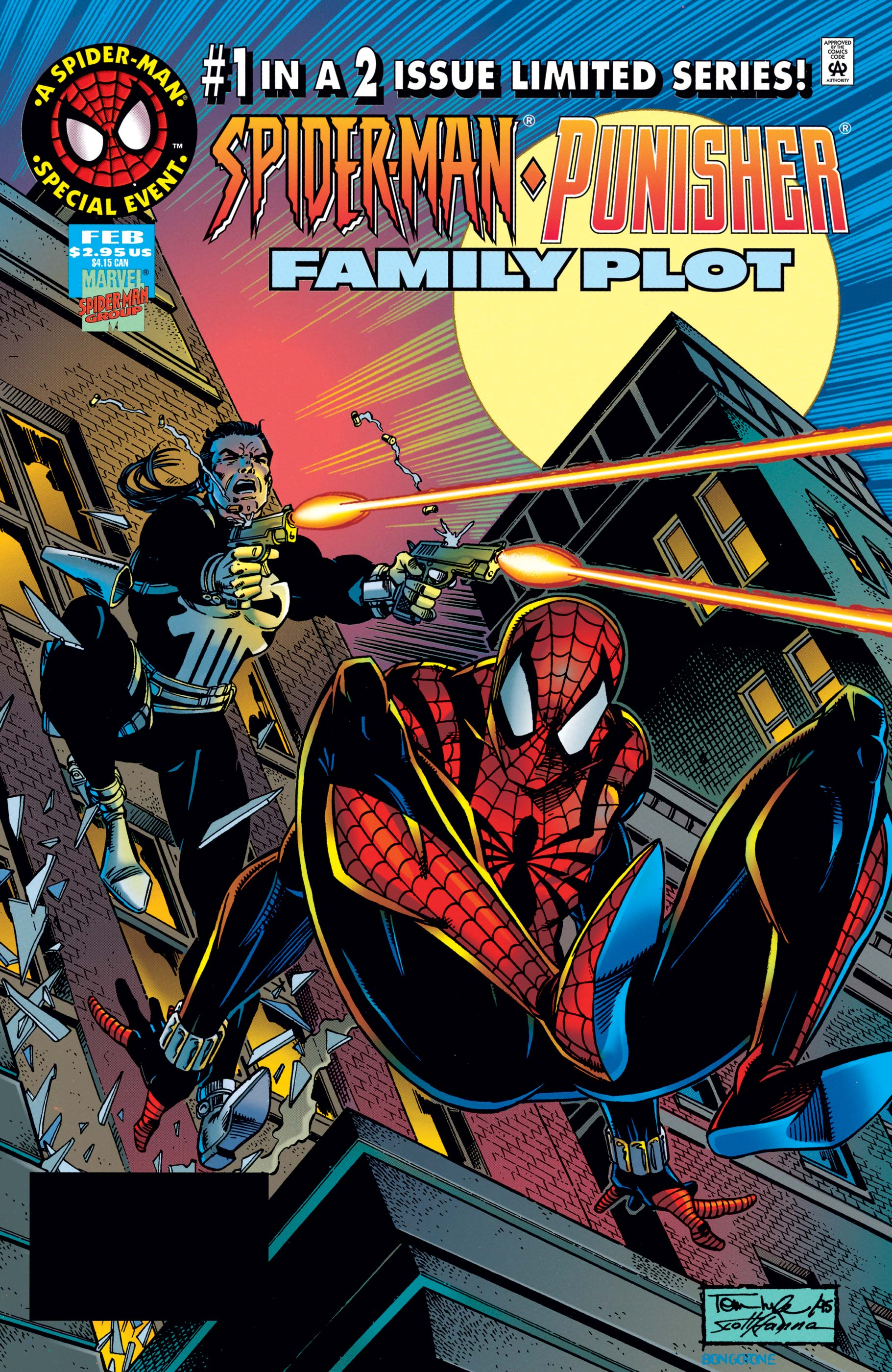 Spider-Man/Punisher: Family Plot (1996) #1