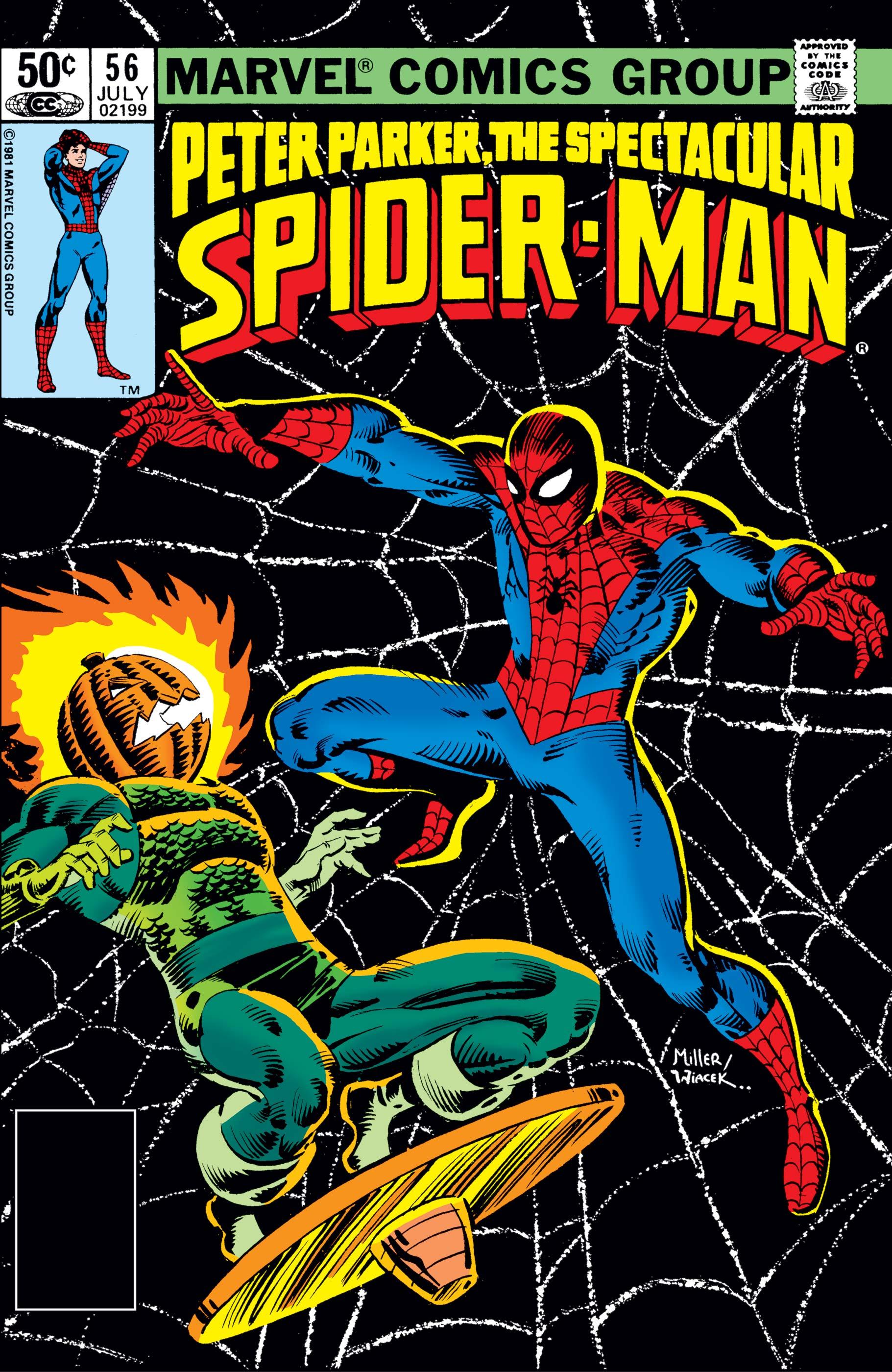 Peter Parker, the Spectacular Spider-Man (1976) #56