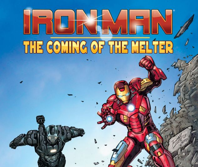 cover from Iron Man: The Coming of the Melter! (2013) #1