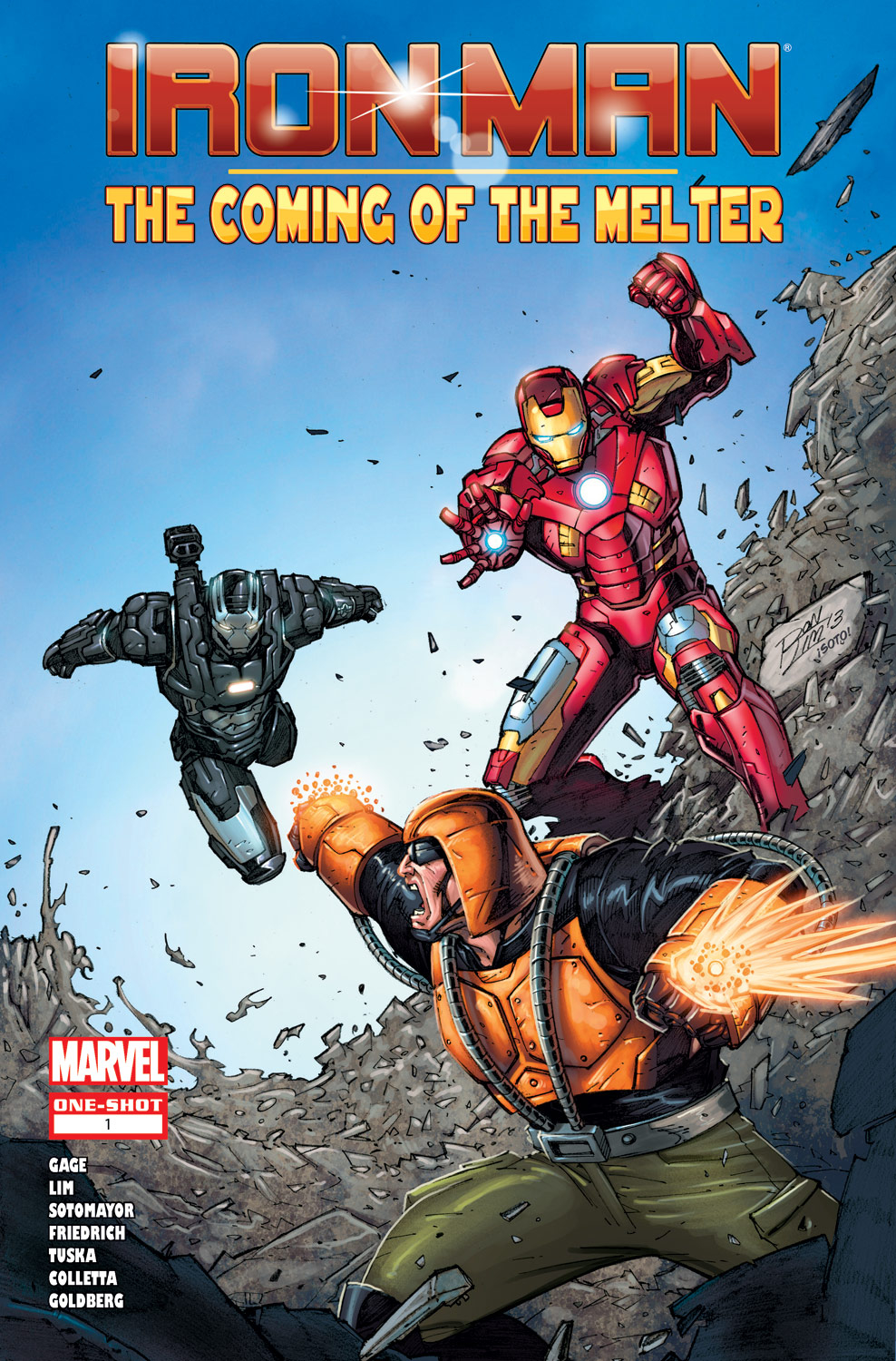 Iron Man: The Coming of the Melter! (2013) #1