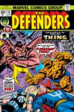 Defenders (1972) #20 cover