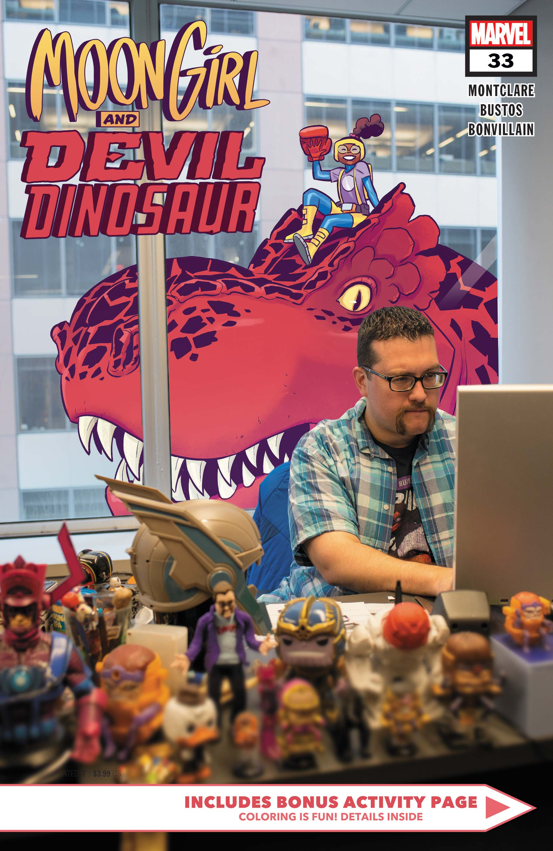 Moon Girl and Devil Dinosaur (2015) #33