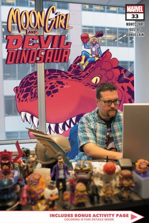Moon Girl and Devil Dinosaur #33