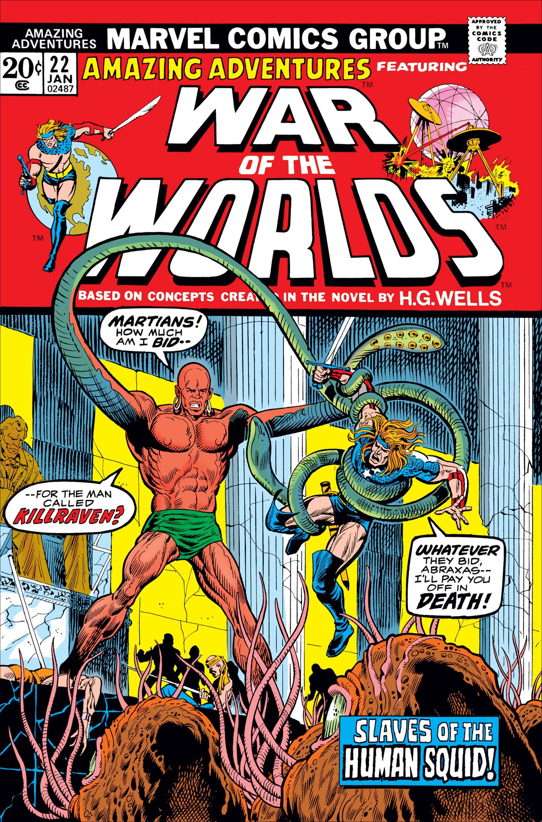 Amazing Adventures (1970) #22
