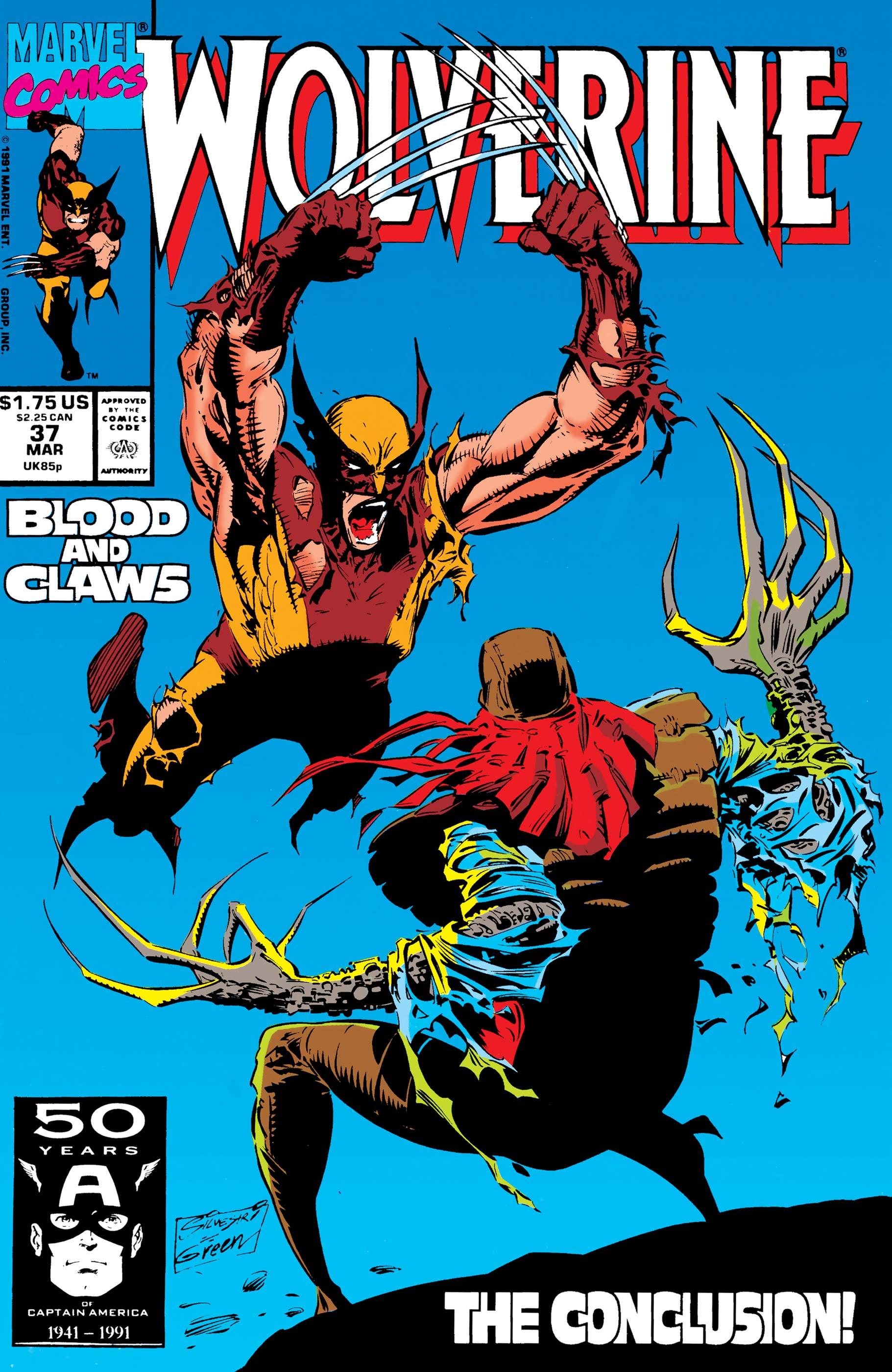 Wolverine (1988) #37
