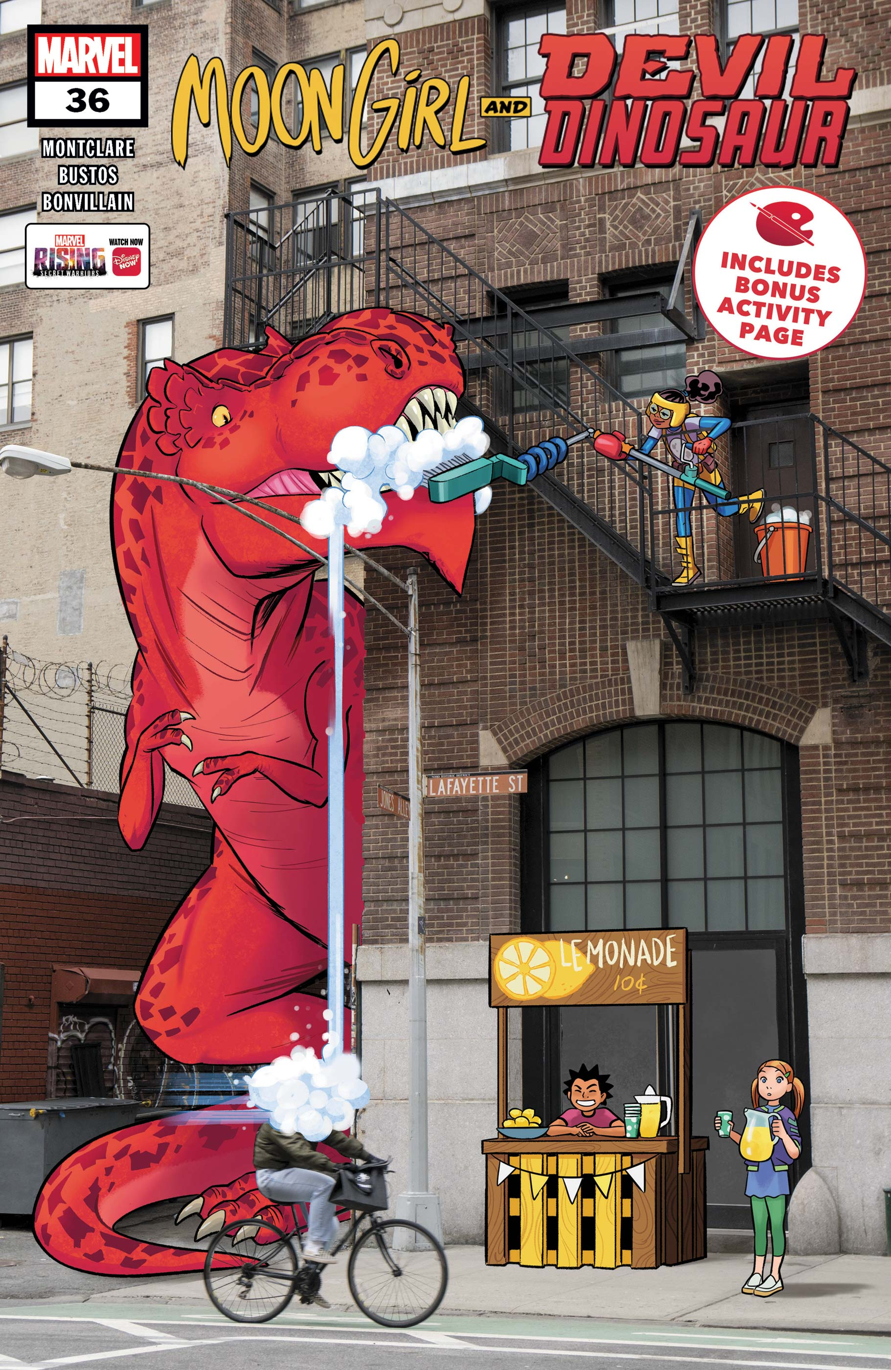 Moon Girl and Devil Dinosaur (2015) #36