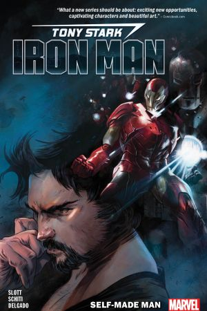 Tony Stark: Iron Man Vol. 1 - Self-Made Man (Trade Paperback)