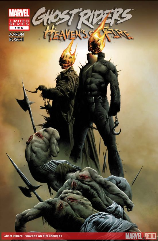 Ghost Riders: Heaven's on Fire (2009) #1