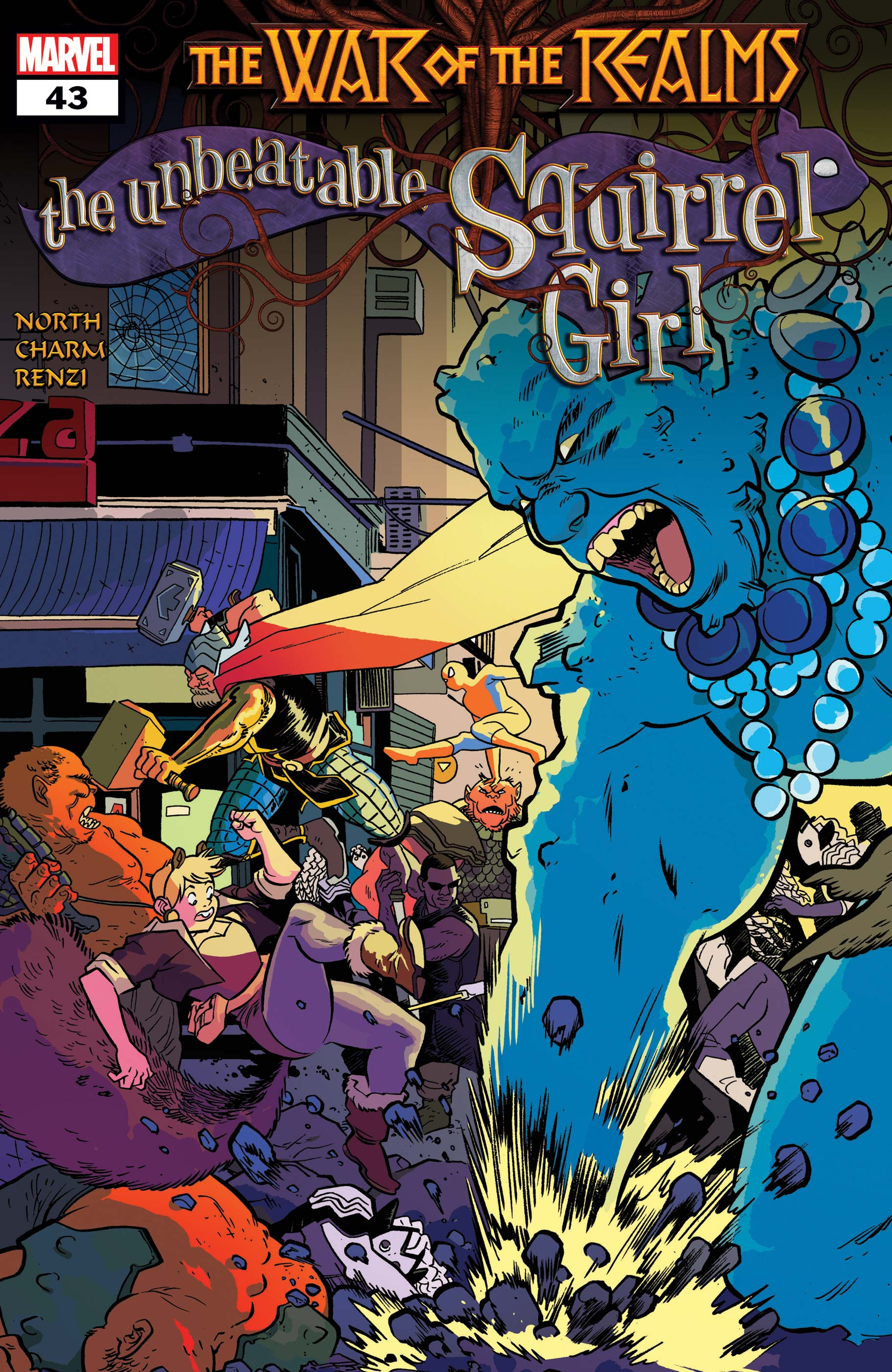 The Unbeatable Squirrel Girl (2015) #43