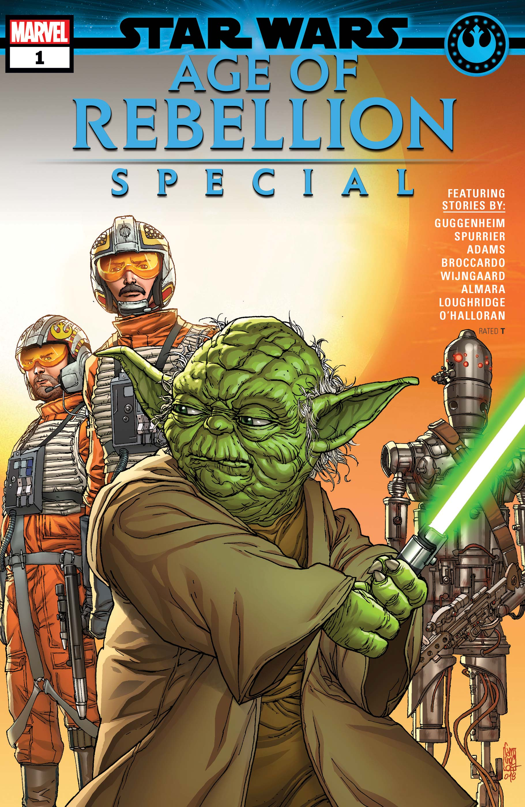 Star Wars Age of Rebellion Special #1 Main Cover STOCK PHOTO Marvel 2019