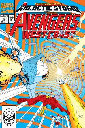 West Coast Avengers #82
