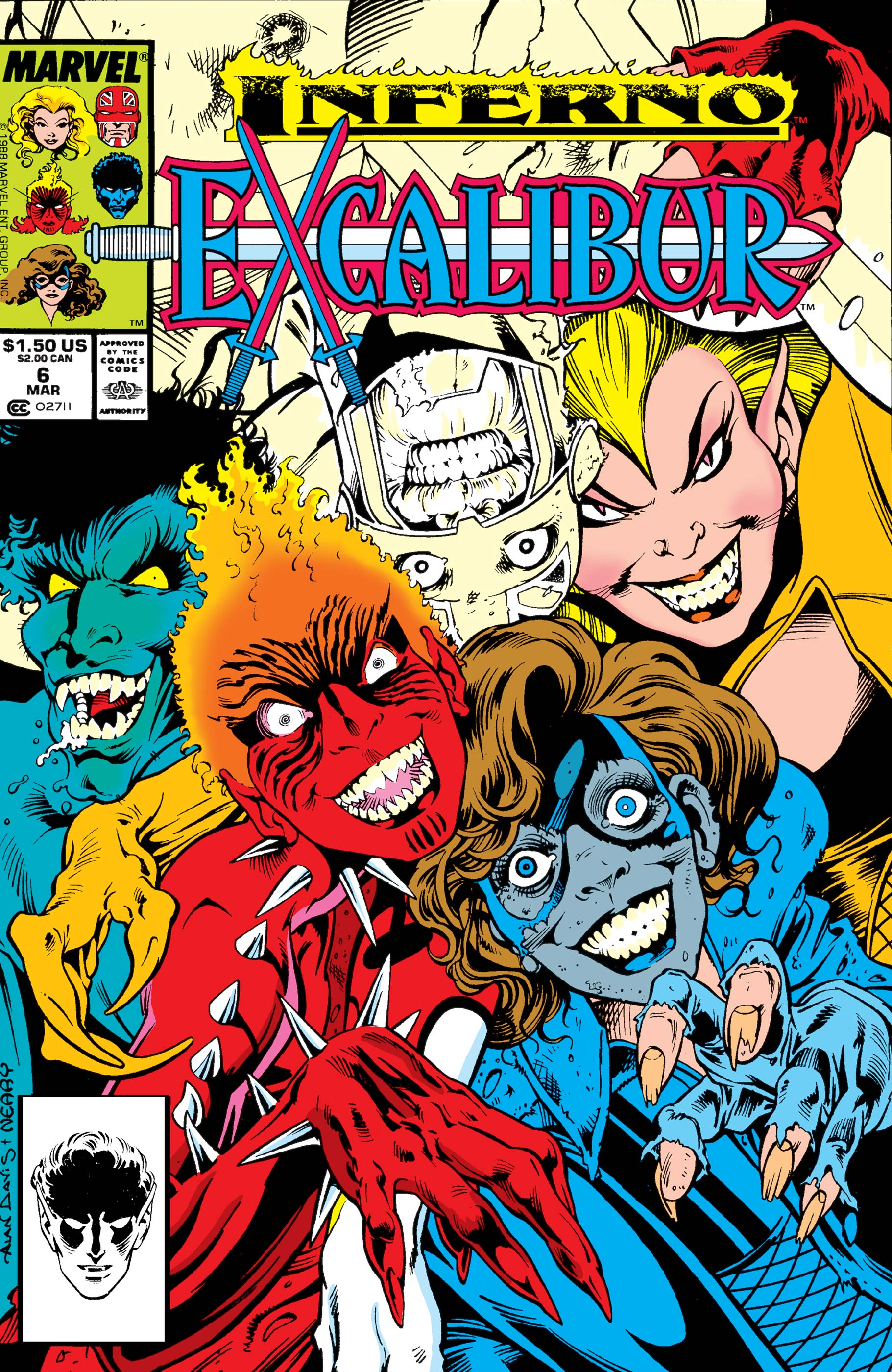 Excalibur (1988) #6
