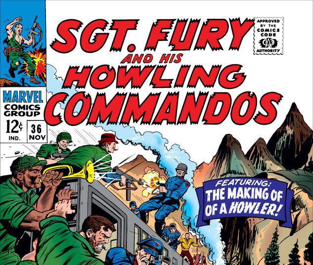 Sgt. Fury #36