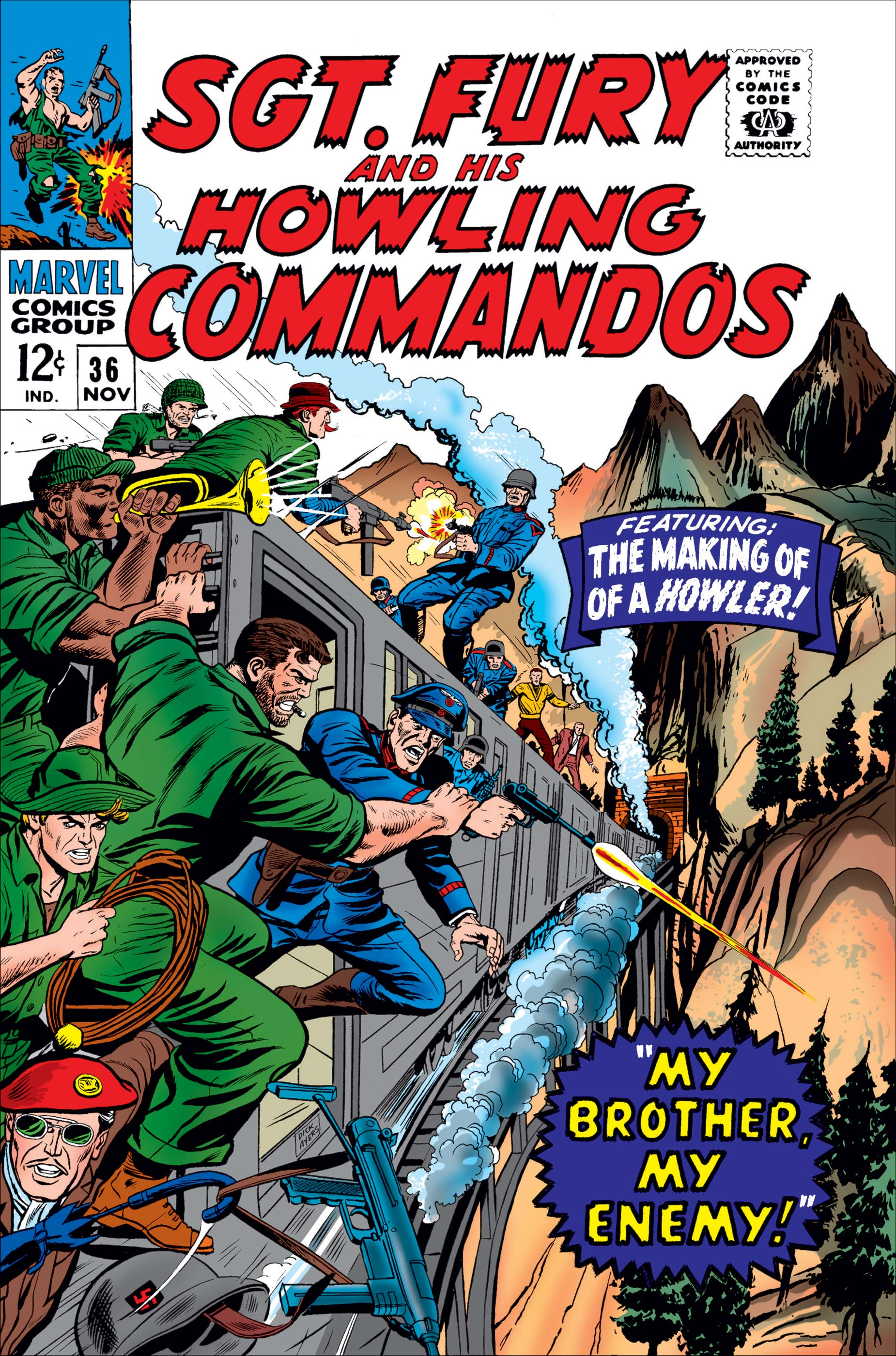 Sgt. Fury (1963) #36