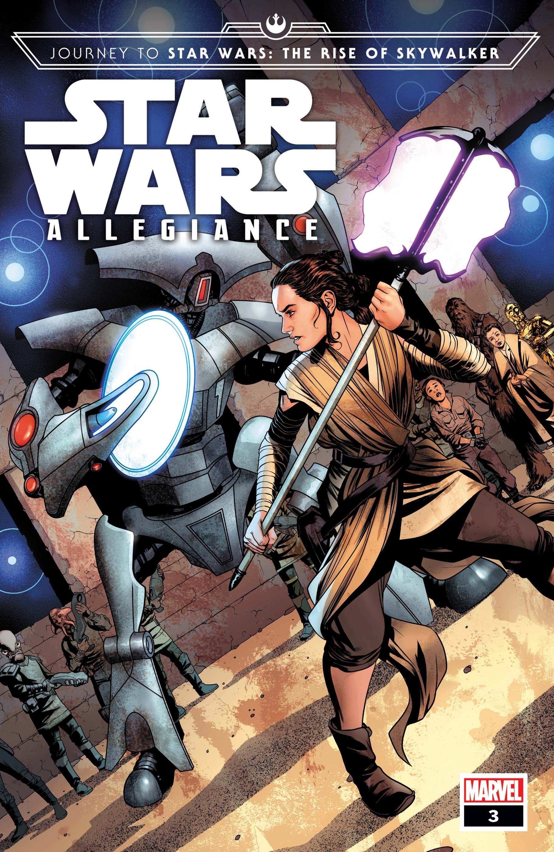 Journey to Star Wars: The Rise of Skywalker - Allegiance (2019) #3 (Variant)