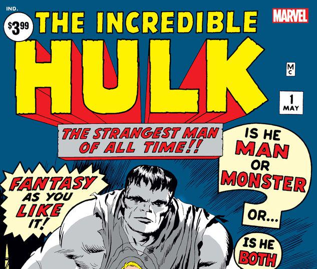 INCREDIBLE HULK 1 FACSIMILE EDITION #1