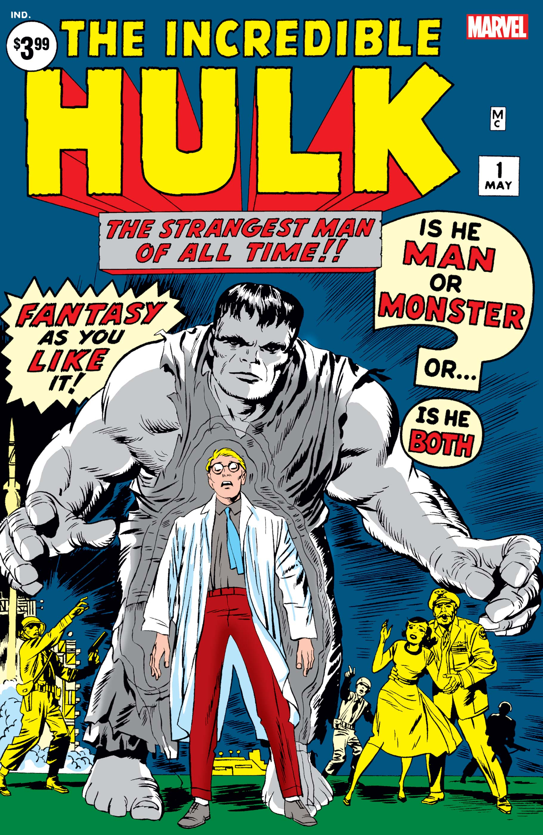 Incredible Hulk Facsimile Edition (2019) #1