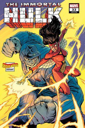 Immortal Hulk #33  (Variant)