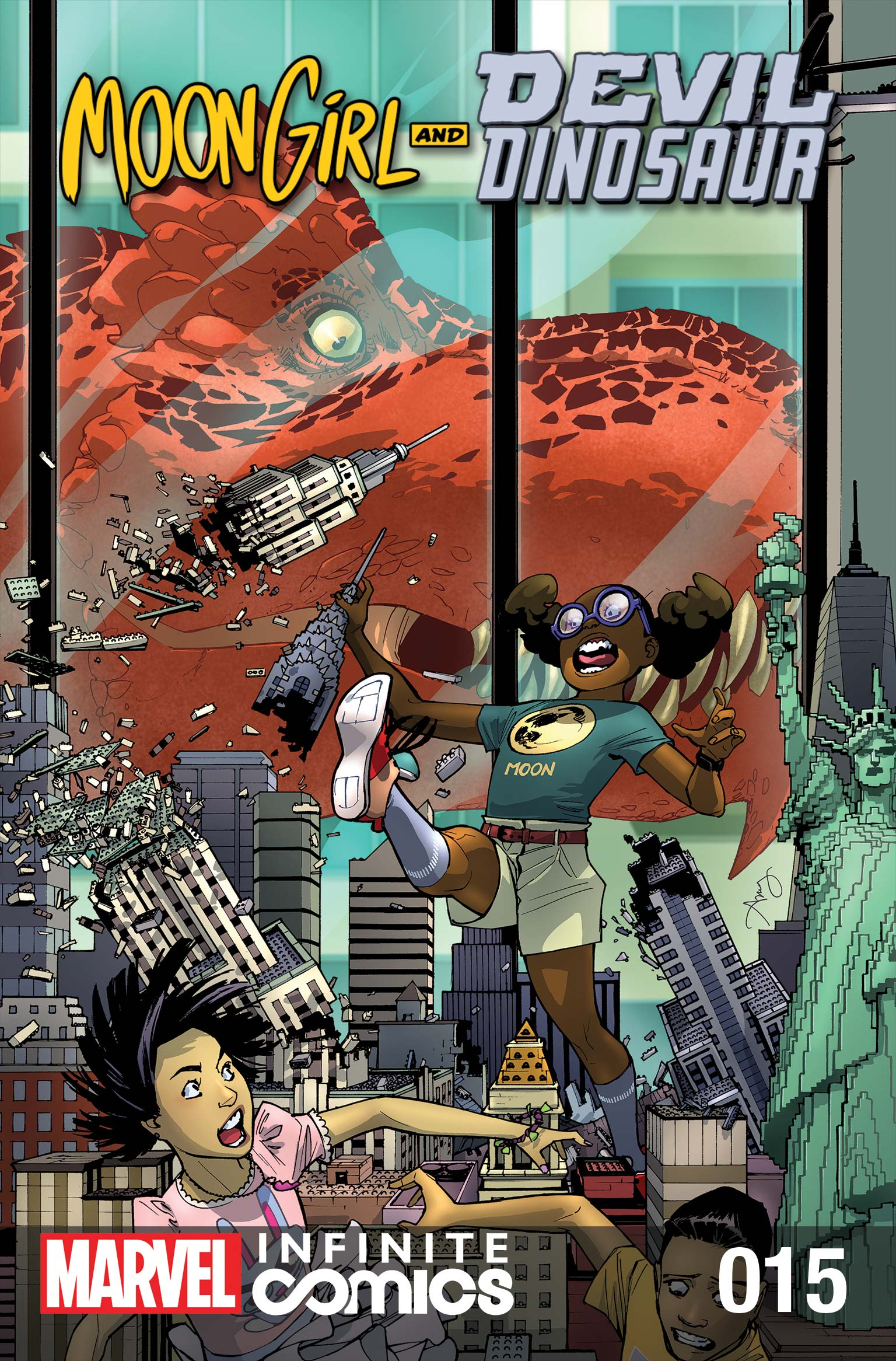 Moon Girl and Devil Dinosaur Infinite Comic (2019) #15