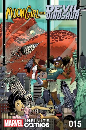 Moon Girl and Devil Dinosaur Infinite Comic #15