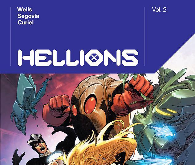 HELLIONS BY ZEB WELLS VOL. 2 TPB #2
