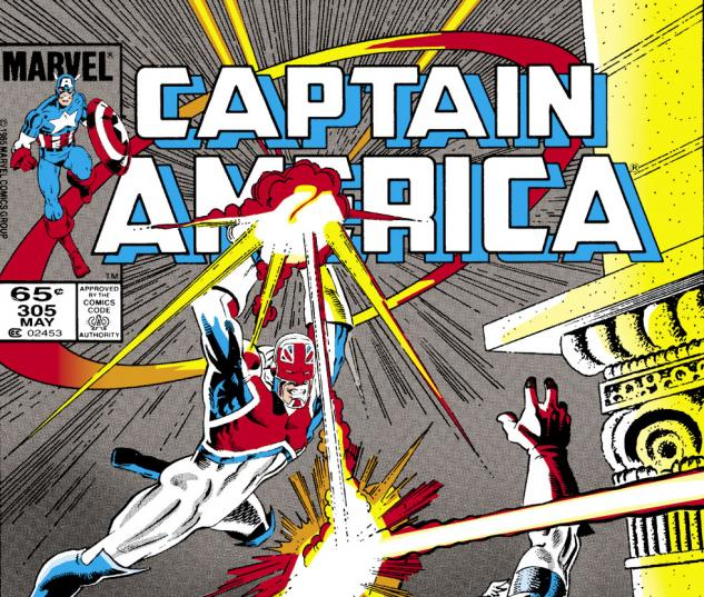 Captain America (1968) #305 Cover