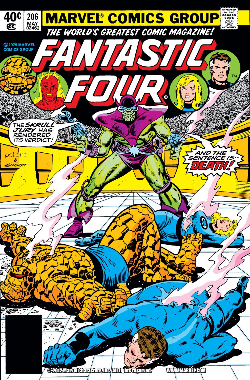 Fantastic Four (1961) #206