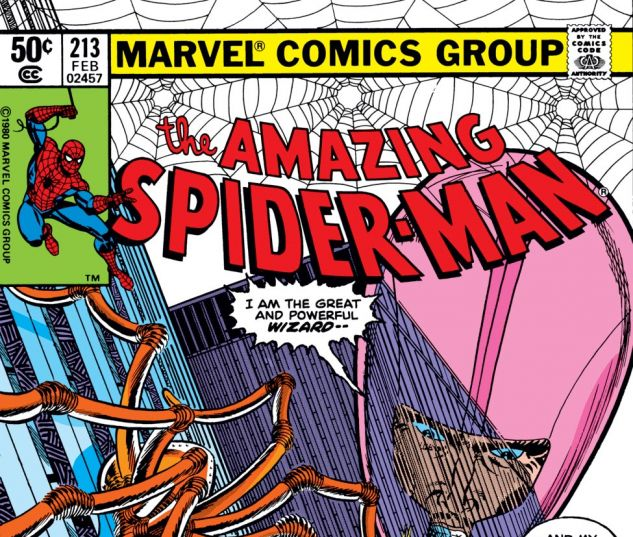 Amazing Spider-Man (1963) #213 Cover