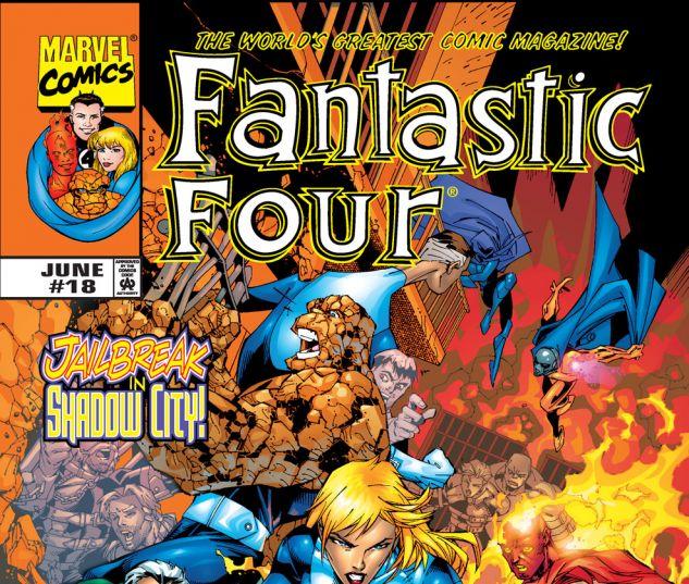 Fantastic Four (1998) #18 Cover