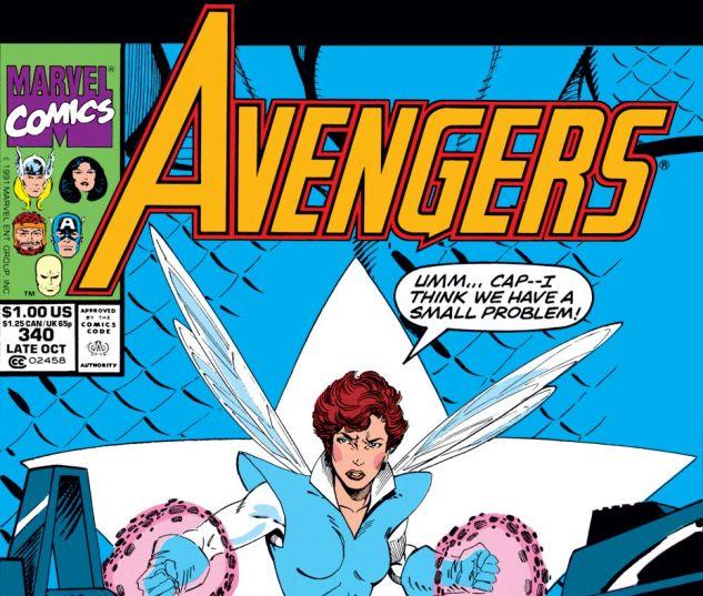 Avengers (1963) #340 Cover