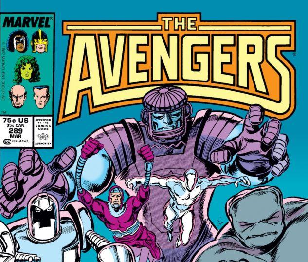 Avengers (1963) #289 Cover