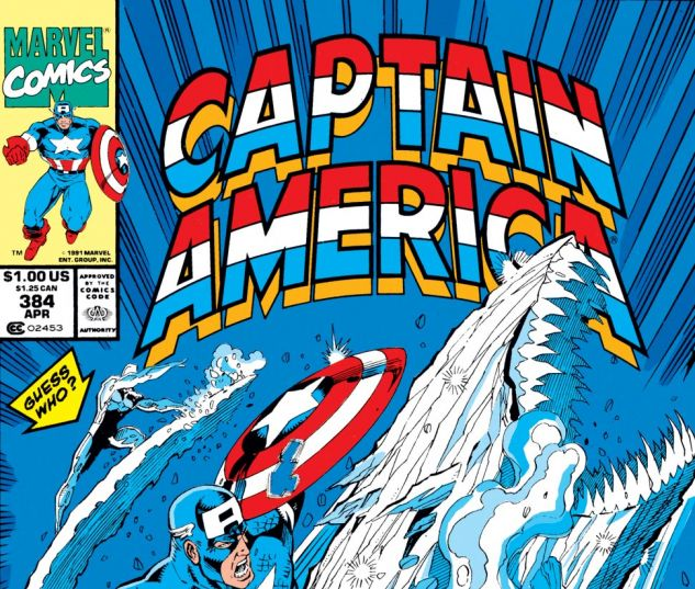 Captain America (1968) #384 Cover