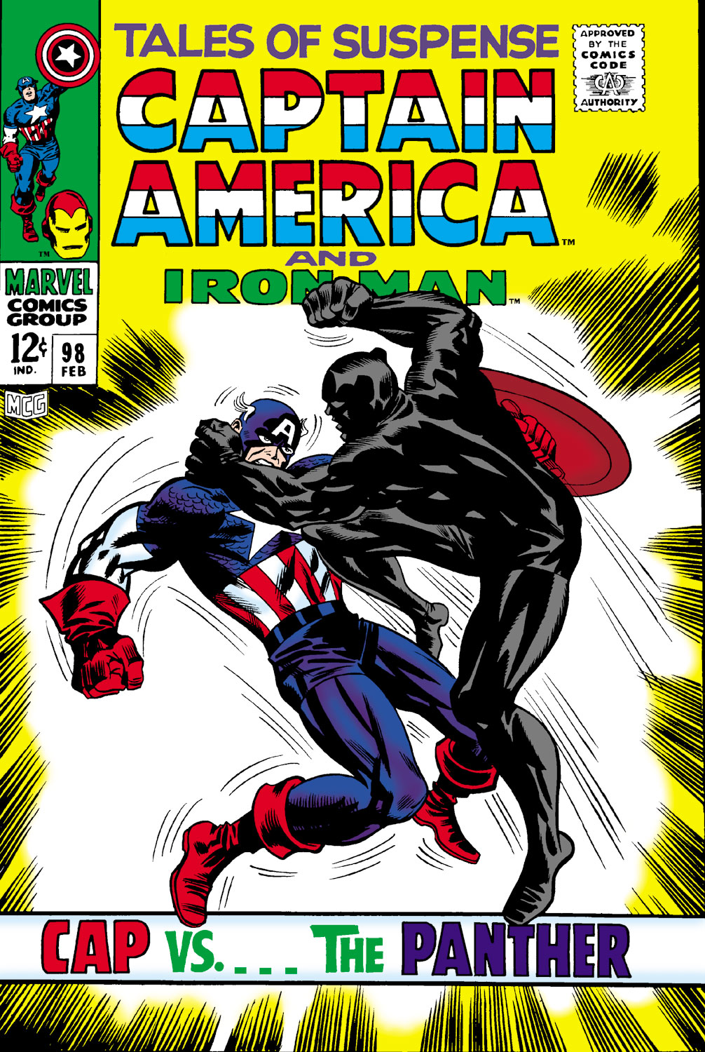 Tales of Suspense (1959) #98