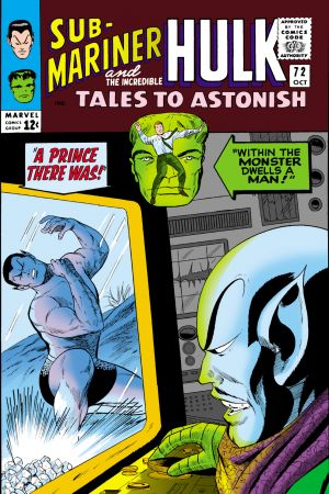 Tales to Astonish #72