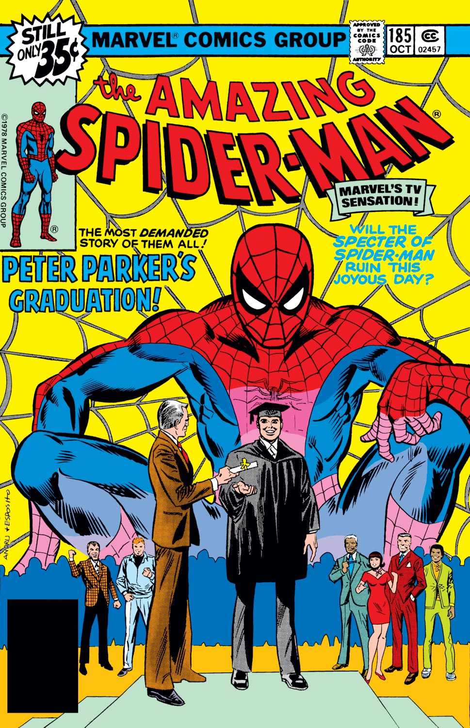 The Amazing Spider-Man (1963) #185