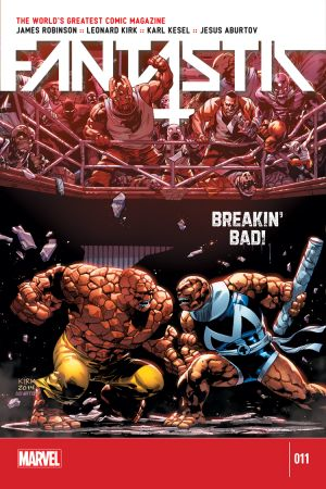 Fantastic Four (2014) #11