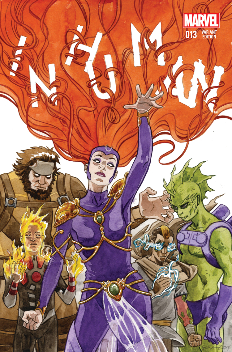 Inhuman (2014) #13 (Thompson Wom Variant)