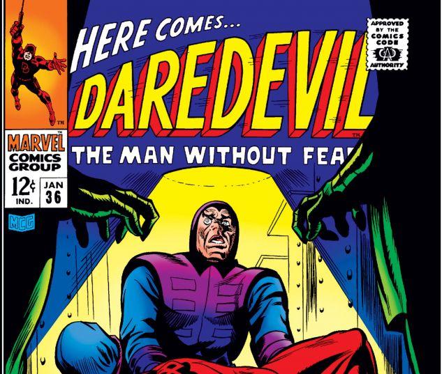 DAREDEVIL (1964) #36 Cover