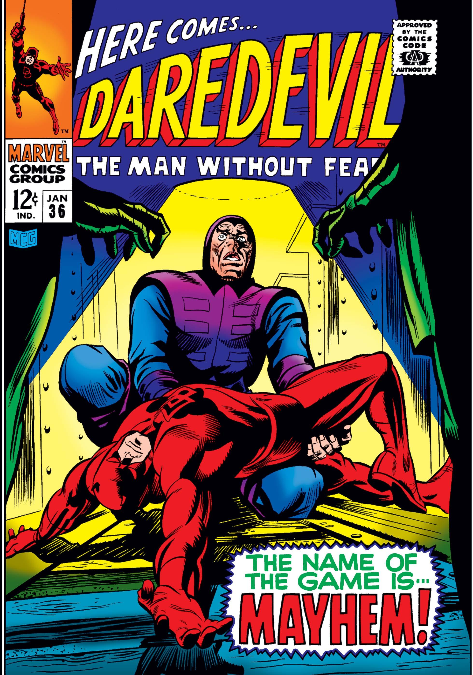 Daredevil (1964) #36