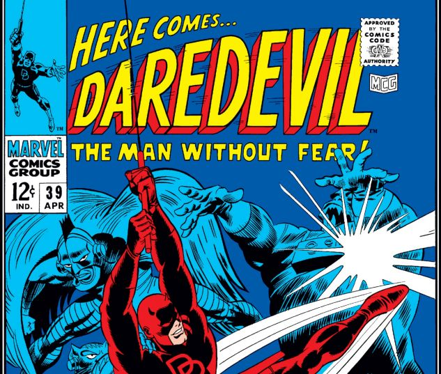 DAREDEVIL (1964) #39 Cover