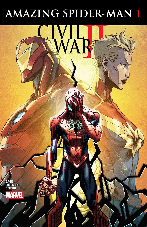 Civil War II: Amazing Spider-Man (2016) #1