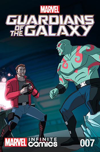 Marvel Universe Guardians of the Galaxy Infinite Comic (2015) #7