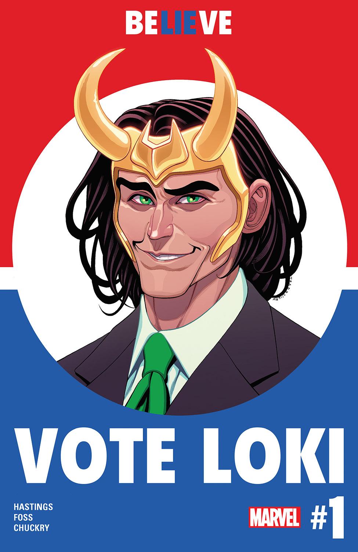 Vote Loki (2016) #1