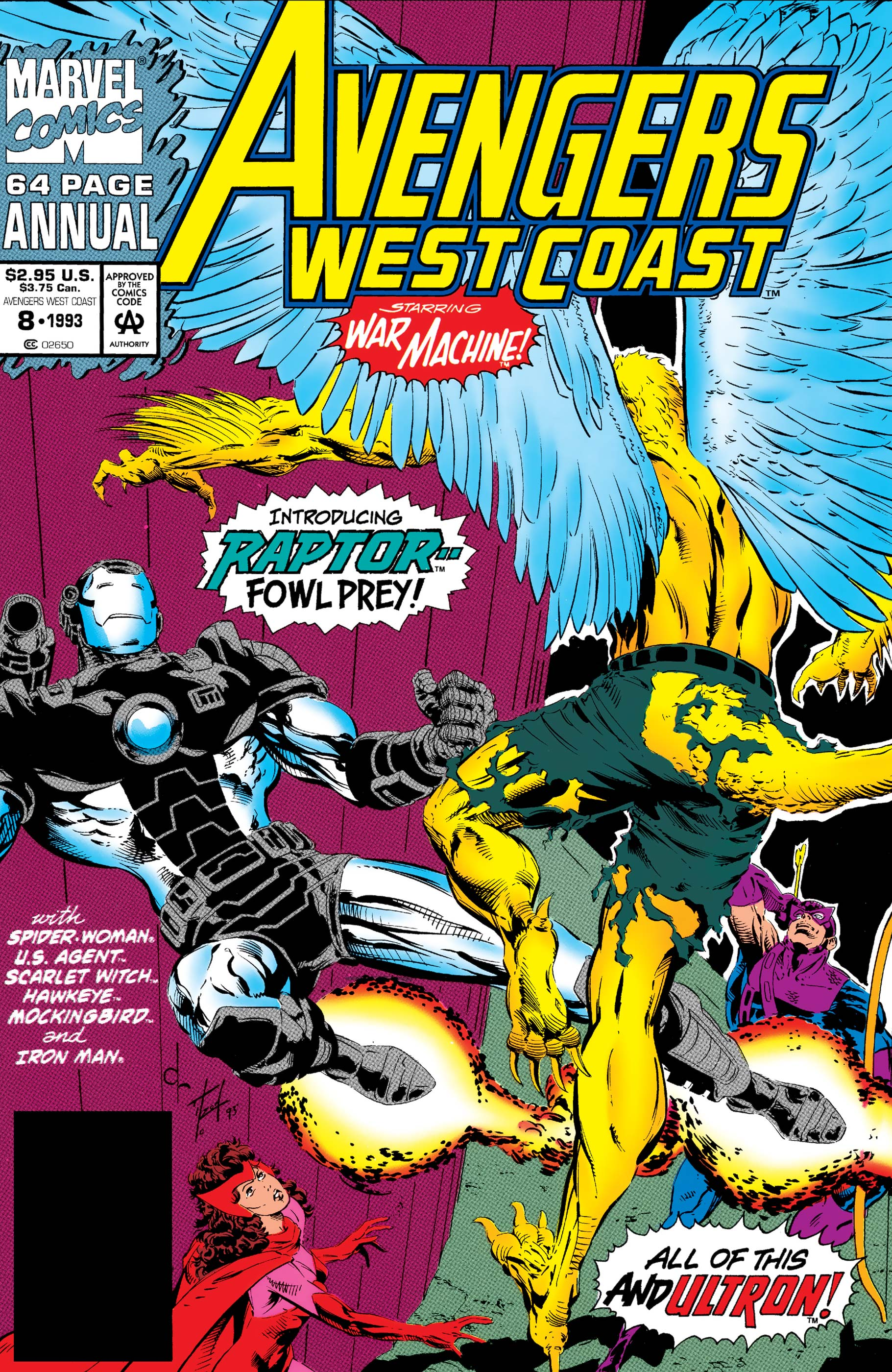 West Coast Avengers Annual (1986) #8